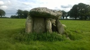 Haroldstown Portal Tomb, County Carlow, Ireland